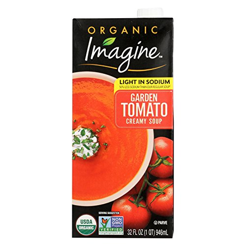 Imagine Foods Garden Tomato Soup - Low Sodium - Case of 12 - 32 Fl oz. by Imagine Foods