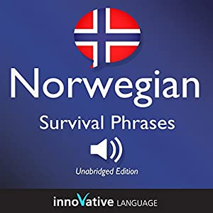 Learn Norwegian: Norwegian Survival Phrases: Lessons 1-50 Audiobook