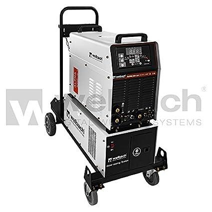 Welbach - ALPHA 335-2.0 - Soldador de aluminio - TIG AC-DC /