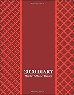 2020 Diary Monthly & Weekly Planner: Ultimate Personal ...