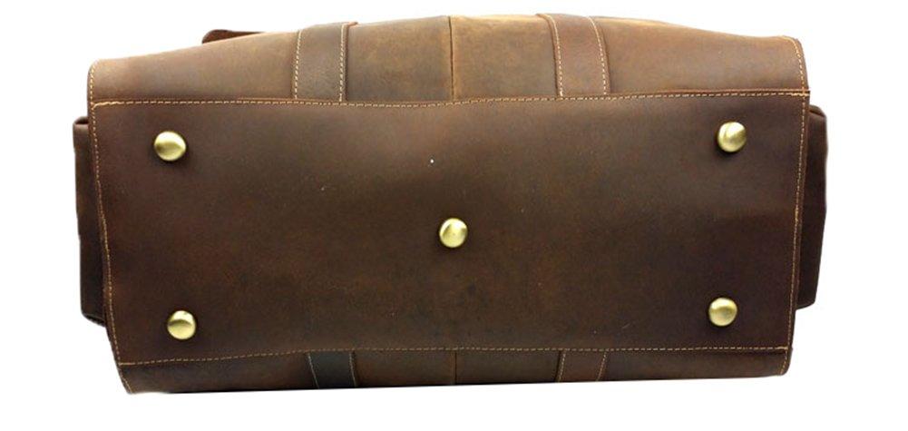 Genda 2Archer Vintage Travel Duffel Bag Boarding Luggage Carry On Gifts for Men by Genda 2Archer (Image #7)