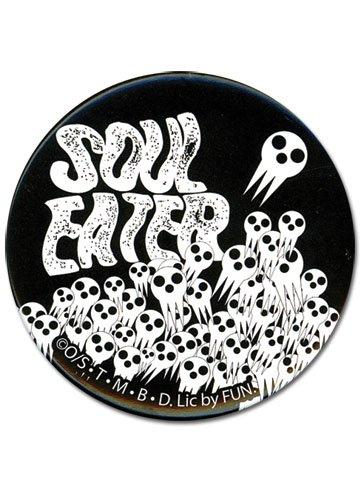 (Great Eastern Entertainment Soul Eater Skull Button)