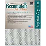Accumulair Platinum 12x20x0.5 (11.5x19.5x0.5) MERV 11 Air Filter/Furnace Filters (2 pack)