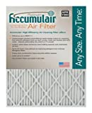 Accumulair Platinum 20x25x4 (19.5x24.5x3.75) MERV 11 Air Filter/Furnace Filters (6 pack)