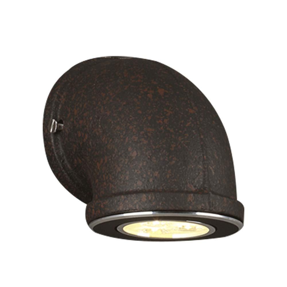 Carl Artbay wall lamp Applique da Parete in Ferro battuto Industriale Loft in Stile Americano personalità Creativa Bar Ristorante Lampada da Parete a Tubo Singolo (colore   M)