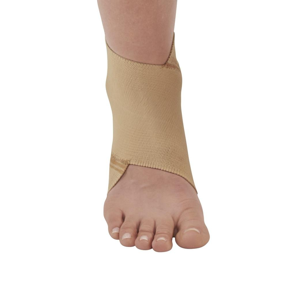 Ames Walker AW Figure 8 Elastic Ankle Support Beige Large - Figure-8 design that conforms to the anatomy of the ankle joint - Support for weakened ankles - Improve circulation to promote healing