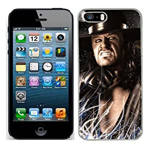 The Undertaker Wrestling cas adapte iphone 5S couverture coque rigide de protection (13) case pour la apple i phone 5 S cover Skin WWE