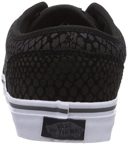 Vans Atwood, Zapatillas para Hombre Negro (Snake Black/Black)