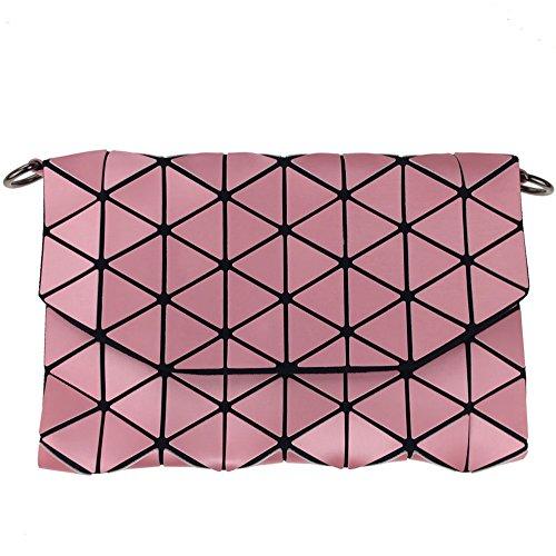 Cosmetic Model Bag Bag Geometric Fashion New Models Phone Bag Makeup Pink rrqR4x7