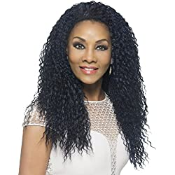 Vivica A Fox Hair Collection FHW-MEENA New Futura Synthetic Fiber Express Half Wig, GMCBR/D, 11.3 Ounce