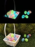 Egglo Glow in the Dark Easter Eggs (12) - Give Your Kids an Amazing (Christian/ Religious) Easter Egg Hunt Game - Make Easter Sunday Unforgettable