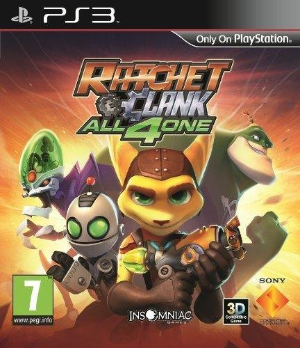 Ratchet and Clank - All 4 one [PS3] | Sony Computer Entertainment