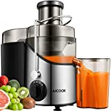 kitchen appliance packages black friday Juicer Juice Extractor, Aicook 3'' Wide Mouth Stainless Steel Centrifugal Juicer, BPA-Free, Non-Slip Feet, Three Speed Juicer Machine for Fruits and Vegetable