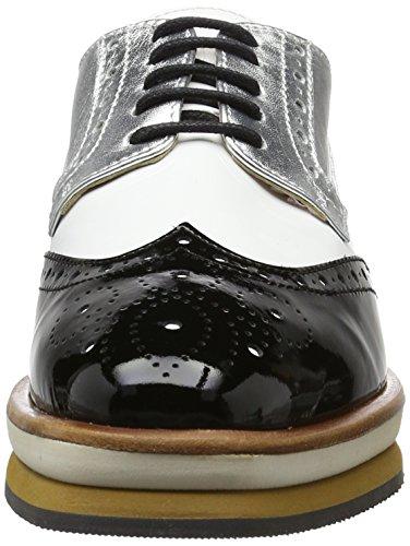 Cain L35 Noir Femme And Gb À Chaussures 08 910 Marc White black Lacets Sc TqdzwITFH