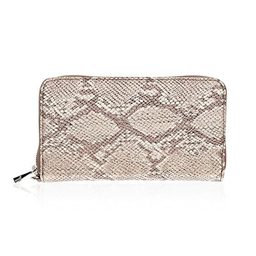 Thirty One All About The Benjamins in Putty Snake - No Monogram - 8021 (Thirty One Coin Purse Wallet)