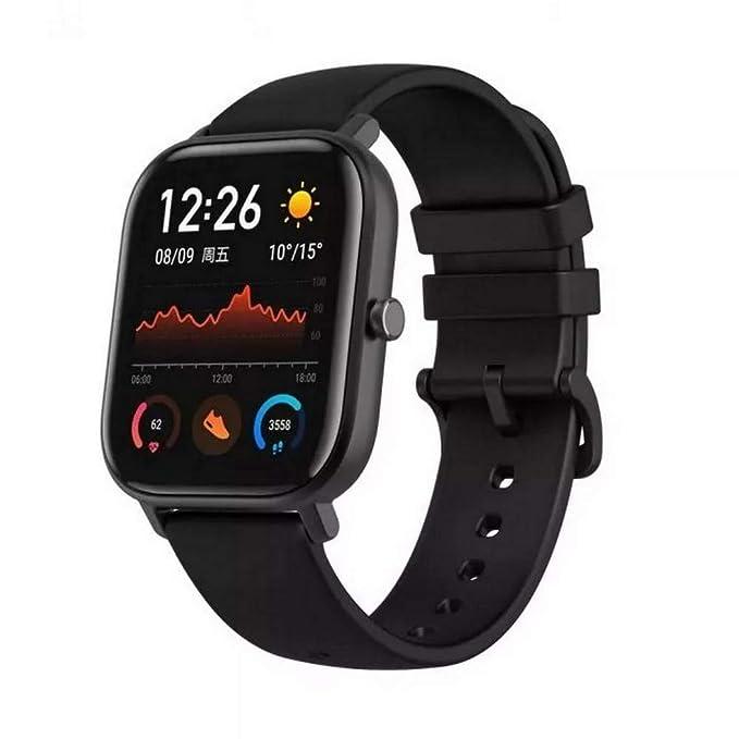 SMARTWATCH XIAOMI AMAZFIT GTS 1,65 GPS NFC OXIDIAN Black: Amazon ...