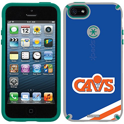 Speck iPhone 5/5S Grey CandyShell Case with Cleveland Cavaliers Hardwood Classic Design by Coveroo