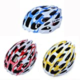 INBIKE Road Bike Bicycle 28 Vents Lightweight PC EPC Helmet Color Red New!!