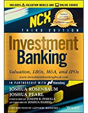 Investment Banking: Valuation, LBOs, M&A, and IPOs