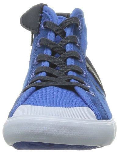 Ps mixte Coq Baskets Mid Pique enfant Olympian Cotton Saint Le mode Sportif Blue Bleu Malo 08dxTvA
