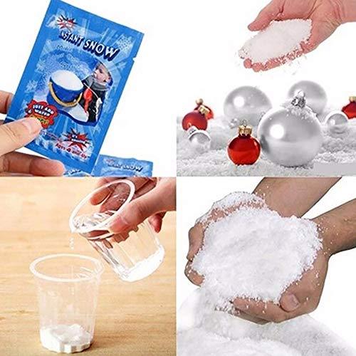 Euone Fake Snow Clearance , 5 Pcs Magic