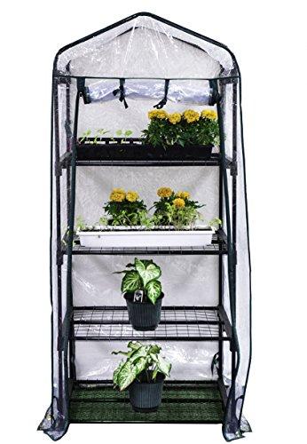 "Gardman R687 4-Tier Mini Greenhouse, 27"" Long x 18"" Wide x 63"" High primary"