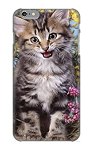 Guidepostee Case Cover Protector Specially Made For Iphone 6 Plus Animal Cat