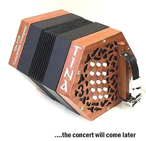 Garvey Tina Irish Traditional Button Concertina Accordion