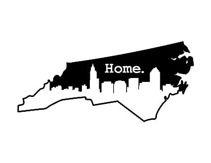Amazon Com Jb Print North Carolina Home Vinyl Decal Sticker
