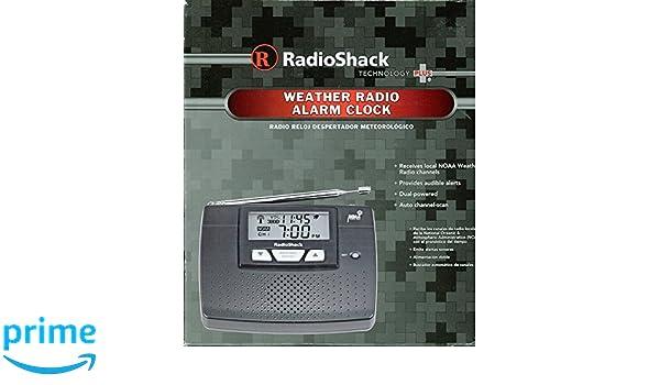Amazon.com: RadioShack® NOAA Weatheradio® with Alarm Clock: Home Audio & Theater
