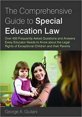 The comprehensive guide to special education law over 400 the comprehensive guide to special education law over 400 frequently asked questions and answers every educator needs to know about the legal rights of fandeluxe Image collections