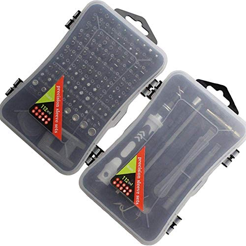 HYLH Precision Screwdriver Kit 112 in 1 with 98 Magnetic Bits Screwdriver Repair Tool Kit for Mobile Phone Tablet Electronic Device