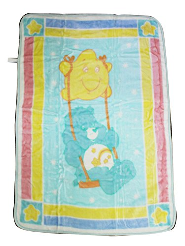 Care Bears Luxury Plush Blanket (Care Bears Blanket)