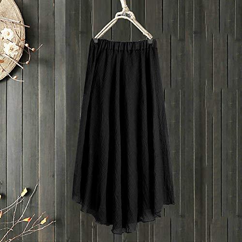 Chic Manches de Hiver Nouveau Coton Longues Tendance Elgant Noir Jersey Vintage Robe Femme Mode Robe en Longues Automne Manches w5HqC4qS