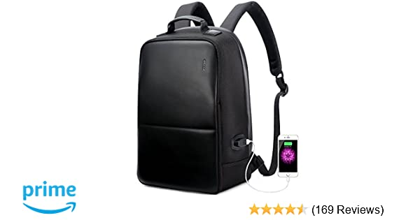 Amazon.com  BOPAI Anti-Theft Business Backpack 15.6 Inch Laptop  Water-Resistant with USB Port Charging Travel Backpack Anti-Glare  Functional Rucksack ... 9e02dbc32a836