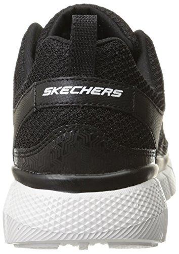 Skechers Track nbsp;on Ginnastica Uomo Nero bkw Da Scarpe nero 0 Equalizer 2 aOqTa