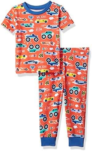 The Children's Place Baby-Boys' Li'l Guy's Short Sleeve & Pant Pajamas Set