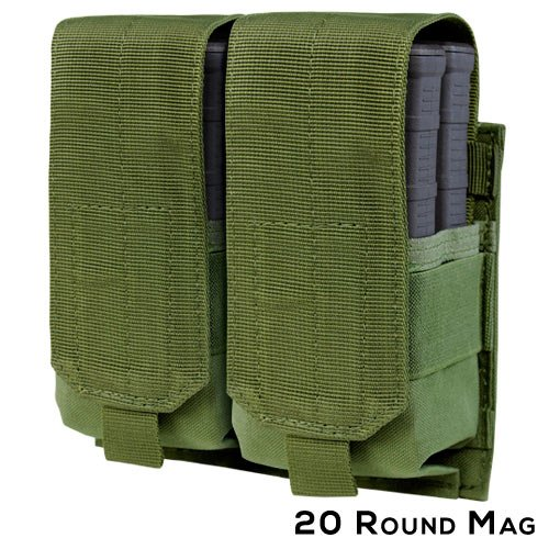 Condor Double M14 MAG Pouch, OD (Magazine Pouch M14)