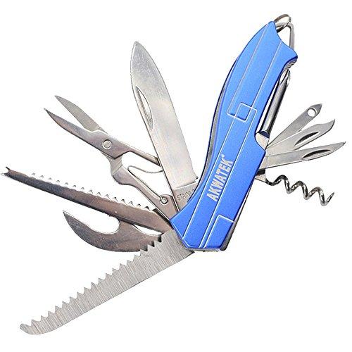 Multitool Army Pocket Knife 14-in-1 with Gift