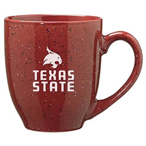 Texas State University - 16-ounce Ceramic Coffee Mug - Burgundy