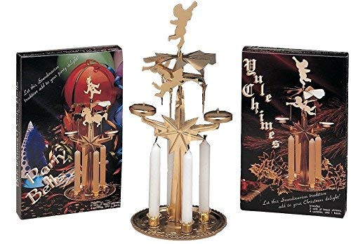 German Candle Carousel - Biedermann & Sons Yule Chime Candle Holder