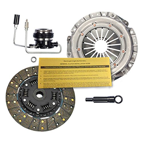 (EFT HD PREMIUM CLUTCH KIT w/ SLAVE CYLINDER for 1987-1992 JEEP CHEROKEE 2.5L)