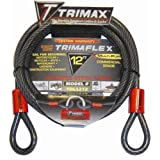 Trimax TDL1212 Trimaflex Dual Loop Multi-Use Cable (12 ft long x 12mm)