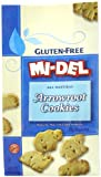 Mi-Del Gluten-Free Cookies, Arrowroot, 8 Ounce (Pack of 12)