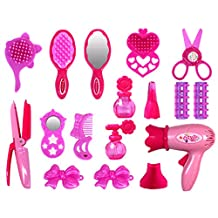 Fcoson Pretend Play Makeup Set Beauty Hair Salon Toy for Toddlers Little Girls