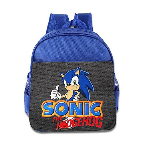 Sonic The Hedgehog Toddler Children School Bags RoyalBlue