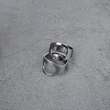 sacacorchos anillos para los dedos sacacorchos abridor de botellas de cerveza herramienta de acero inoxidable sacacorchos portátil Novedad regalos para utensilios de cocina accesorios para el hogar An