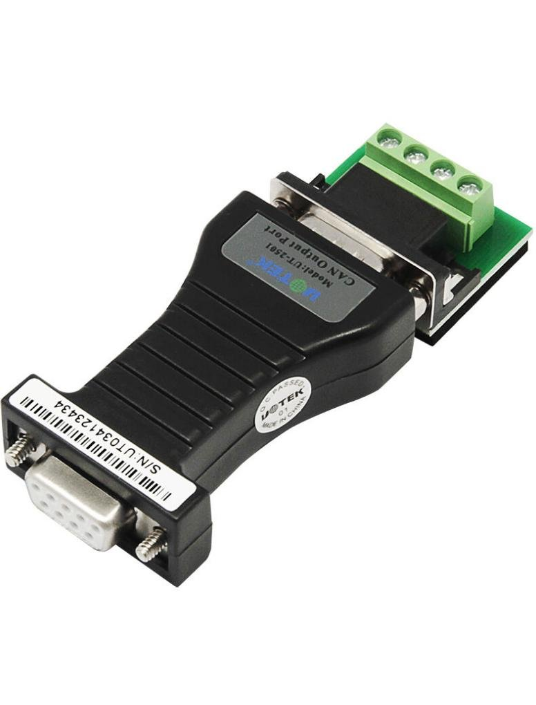 UTEK UT-2501 RS-232 to CANBUS Converter TTL Level by U-Tek