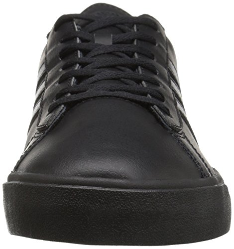 adidas Men's Cloudfoam Super Daily Fashion Sneakers, Black/Black/Black, (8.5 M US)