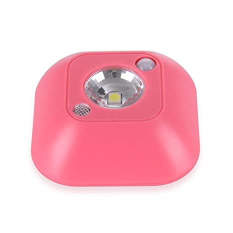 ningsun LED Mini sensor de movimiento de infrarrojos sin hilos luz nocturna pared guardarropa de emergencia